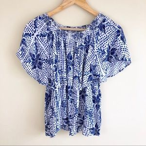 Show Me Your MuMu Tops - Show Me Your Mumu Bungalow Off The Shoulder  Top